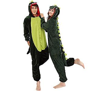Aoibox Adult Dinosaur Plush One Piece Animal Cosplay Costume