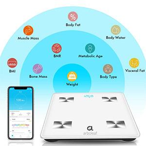 Arboleaf Bluetooth Body Fat Scale