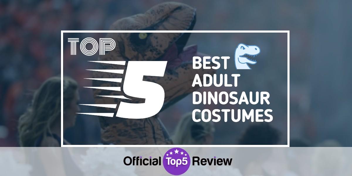 Adult Dinosaur Costumes - Featured Image