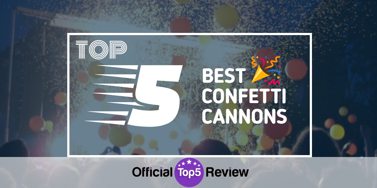 Confetti Cannons - Featured Image