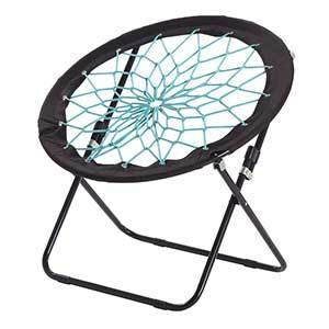 Camp Field Camping And Room Bungee Folding Dish Chair