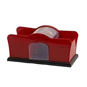"Dual Deck Hand Crank ""Welcome To Las Vegas"" Card Shuffler"