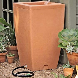 Gardener's Supply Company Santa Fe Rain Barrel
