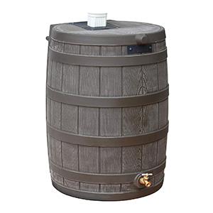 Good Ideas RW40-OAK Rain Wizard Rain Barrel