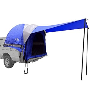 Hasika Waterproof Double Layer Large Space Pickup Truck Tailgate Tent