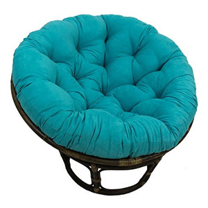 International Caravan 3312-MS-AB-IC Papasan Chair