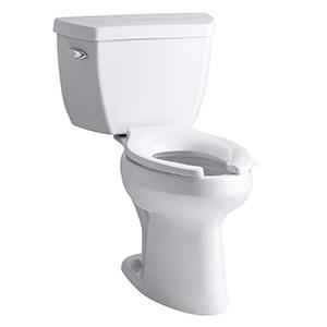 Kohler K-3493-0 Highline Classic Pressure Lite Comfort Elongated Toilet
