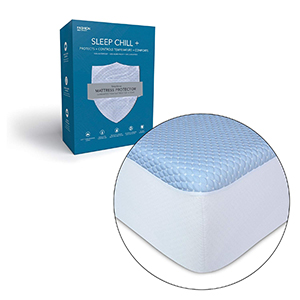 Leggett & Platt Sleep Chill + Crystal Gel Mattress Protector