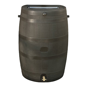 RTS Home Accents 50-Gallon Rain Water Collection Barrel