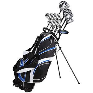 18 Piece Men's Complete Golf Club Package Set