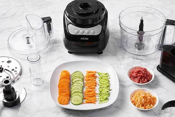 Aicok 12-Cup Food Processor Blender