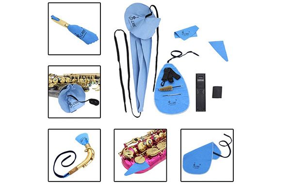Andoer Saxophone Cleaning Care Kit