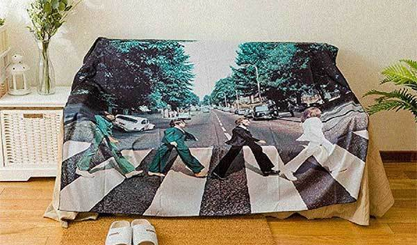 Beatles Walk On The Road Wall Hanging Tapestry
