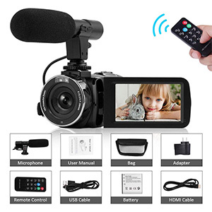 Camcorder Video Camera Full HD -Seree