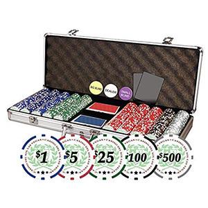 DA VINCI Professional Casino Del Sol Poker Chips Set