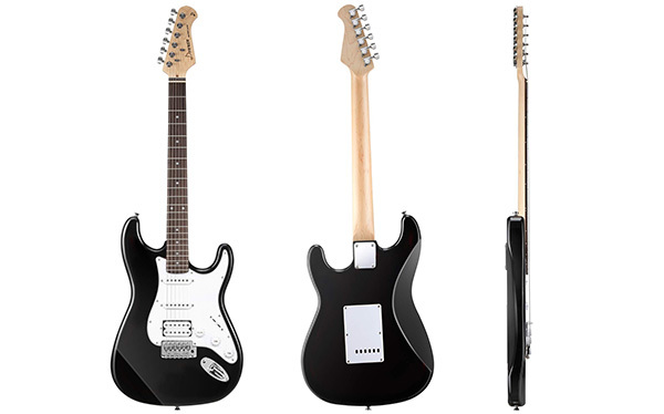 Donner DST-1B Full-Size Electric Guitar