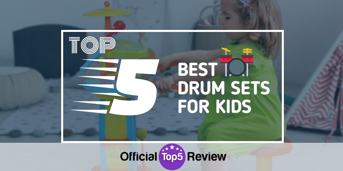 Drum Sets For Kids - Featured Image
