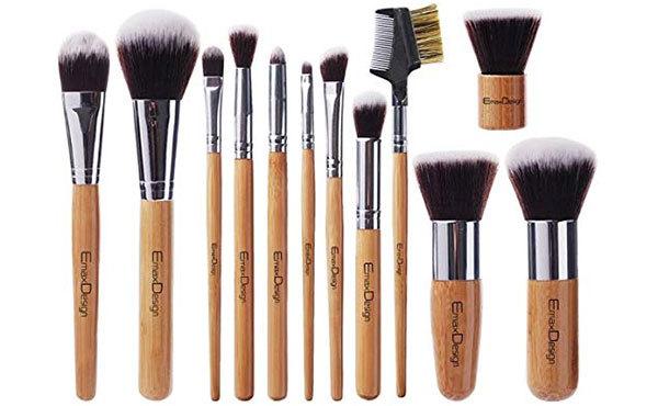 EMaxDesign 12-Piece Makeup Brush Set
