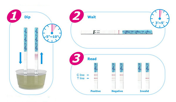 Easy@Home 50 Ovulation Test Strips