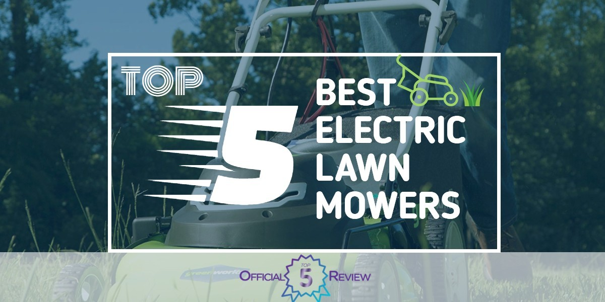 Electric Lawn Mowers - Featured Image