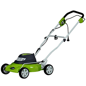 Greenworks 18-Inch 12 Amp Corded Lawn Mower
