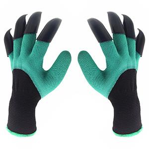 Inf-way Both Hand Claws Gardening Gloves