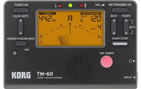 Korg Tuner and Metronome Combo