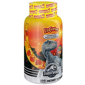 L'il Critters Jurassic World Complete Kids Multivitamin Gummies