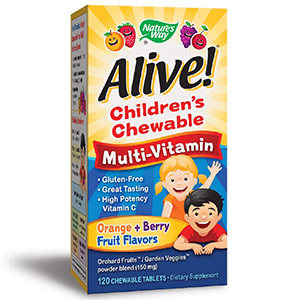 Nature's Way Alive! Children's Chewable Multivitamin