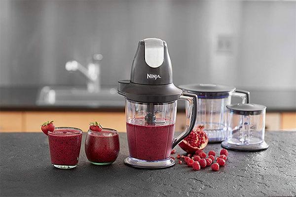 Ninja Blender/Food Processor with 450-Watt Base