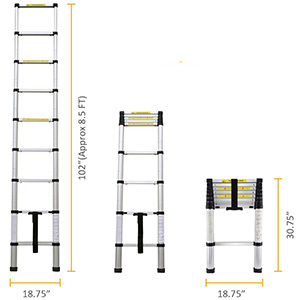 The 5 Best Telescoping Ladders Of 2019 | Telescoping Ladder Reviews