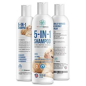 Pet Care Sciences 5-in-1 Dog Shampoo