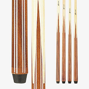 Players Set of 1 Piece Pool Cue Sticks