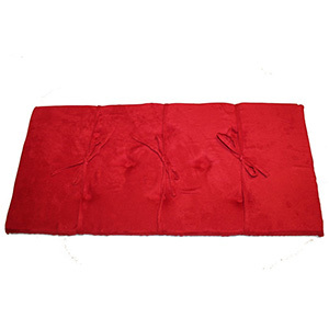 Red Piano Bench Cushion Pad