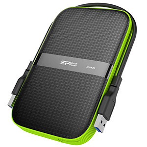 Silicon Power 2TB Rugged Portable External Hard Drive