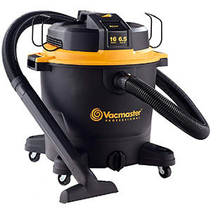 "Vacmasater 16 Gallon, 6.5 HP 2-1/2"" Prof. Wet/Dry Vac"