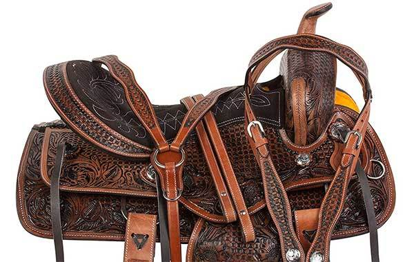 AceRugs All Natural Western Horse Saddle
