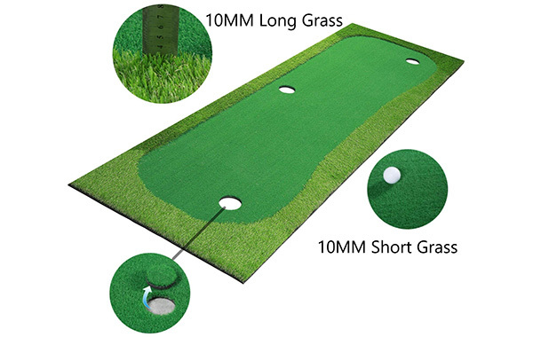 BOBURACN Golf Putting Green Mat