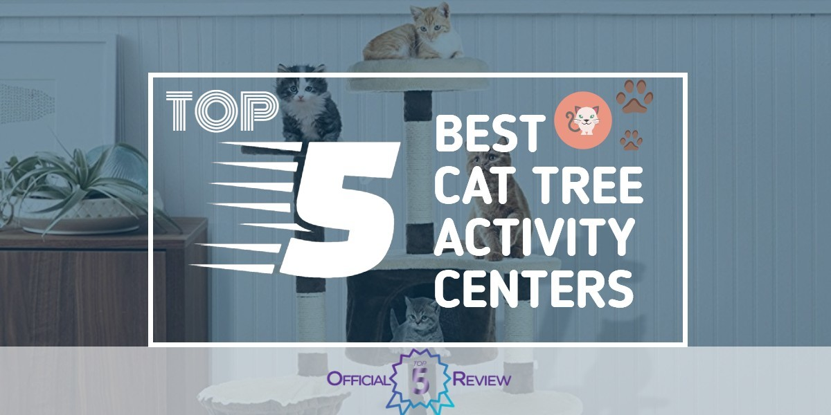 Cat Tree Activity Centers - Featured Image