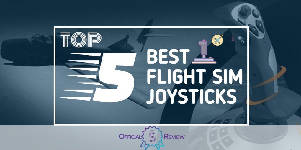 Flight Sim Joysticks - Featured Image