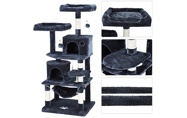 Free Paws Cat Activity Tree Towers
