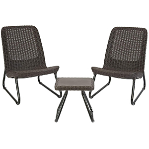 Keter Rio Outdoor Patio Garden Conversation Chair