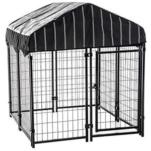Lucky Dog Uptown Welded Wire Kennel