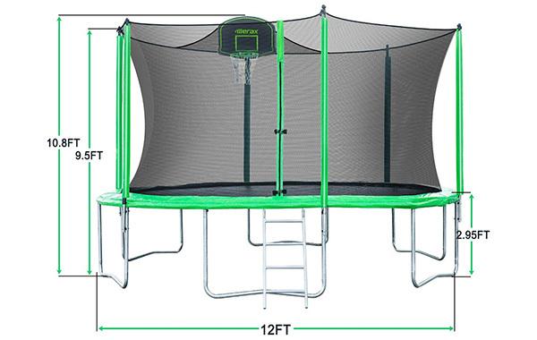 Merax Trampoline Net