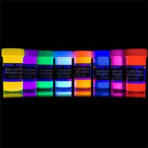 Neon Lights Glow-in-the-Dark Paint