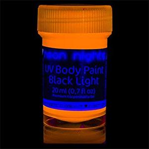 Neon Nights Body Paint Black Light Make-up