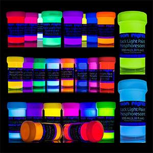Neon Nights 'Glow Crafts