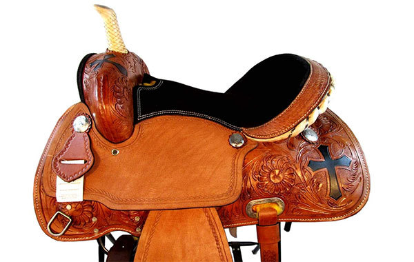 Orlov Hill Leather Co Horse Racing Saddle