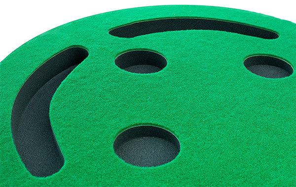 Shaun Webb's Golf Putting Green and Indoor Mat