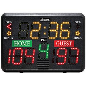 Sportable Scoreboards Indoor Tabletop Scoreboard